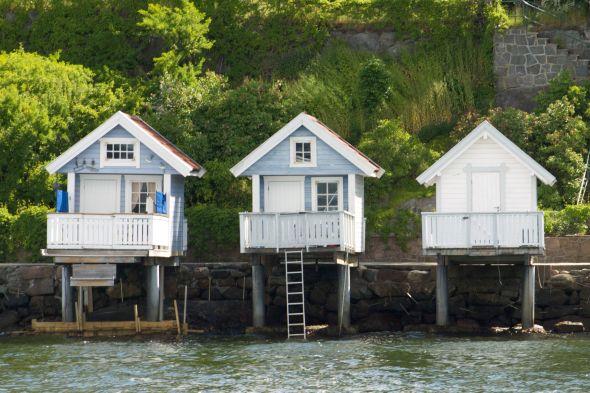 Oslobeach_huts1