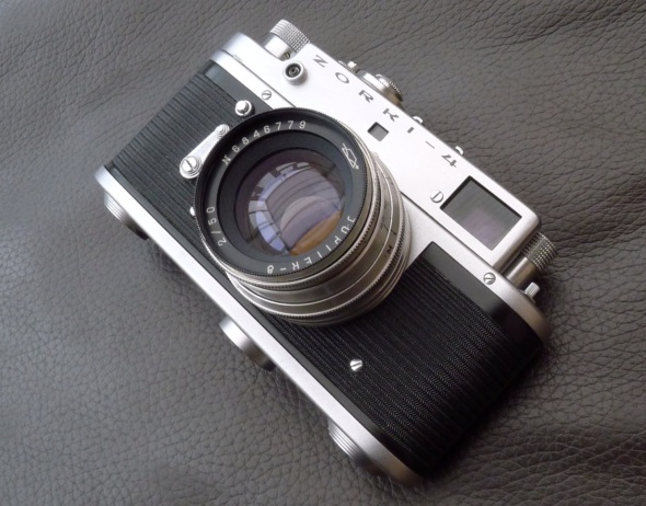 Zorki-4 Soviet Rangefinder Camera