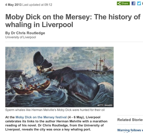 Arctic whaling in Liverpool