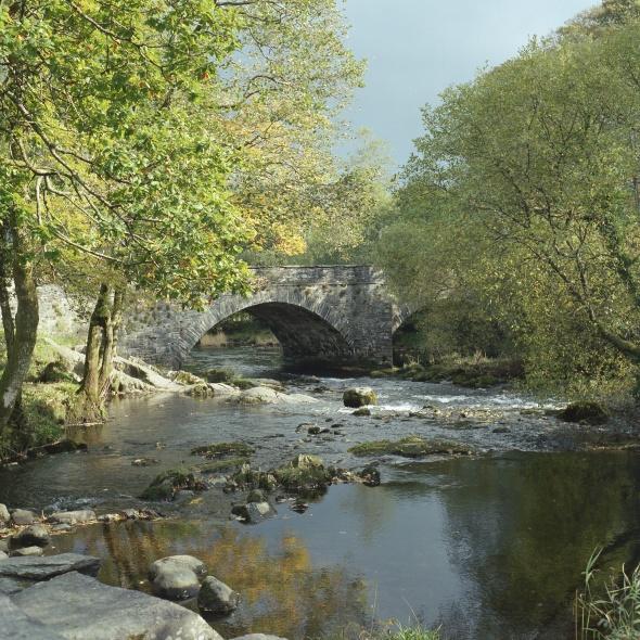 Skelwith Bridge, Kodak Portra 400
